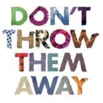 don't throw the away textiles campaign image