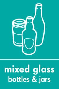 Mixed glass graphic