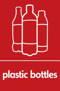 Plastic bottles graphics