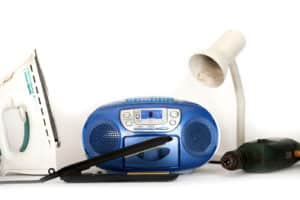 Image of electrical items
