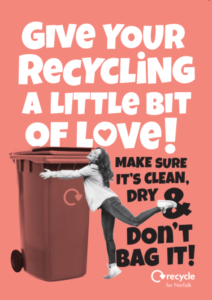 Give Your Recycling a Little Bit of Love Leaflet, click to open.