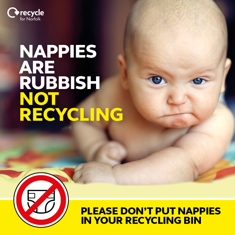 Nappies Are Rubbish Not Recycling