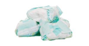 Image of disposable nappies
