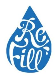 Image of the refill logo