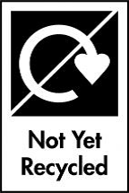 Not yet recycled symbol