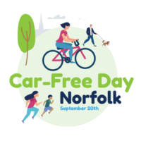 Car Free Norfolk logo