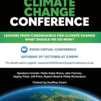 Norfolk Climate Change Conference flyer