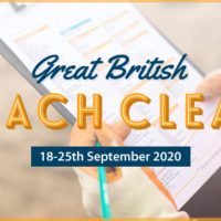great british beach clean logo