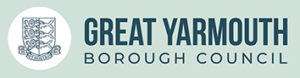 Great Yarmouth Borough Council logo and link