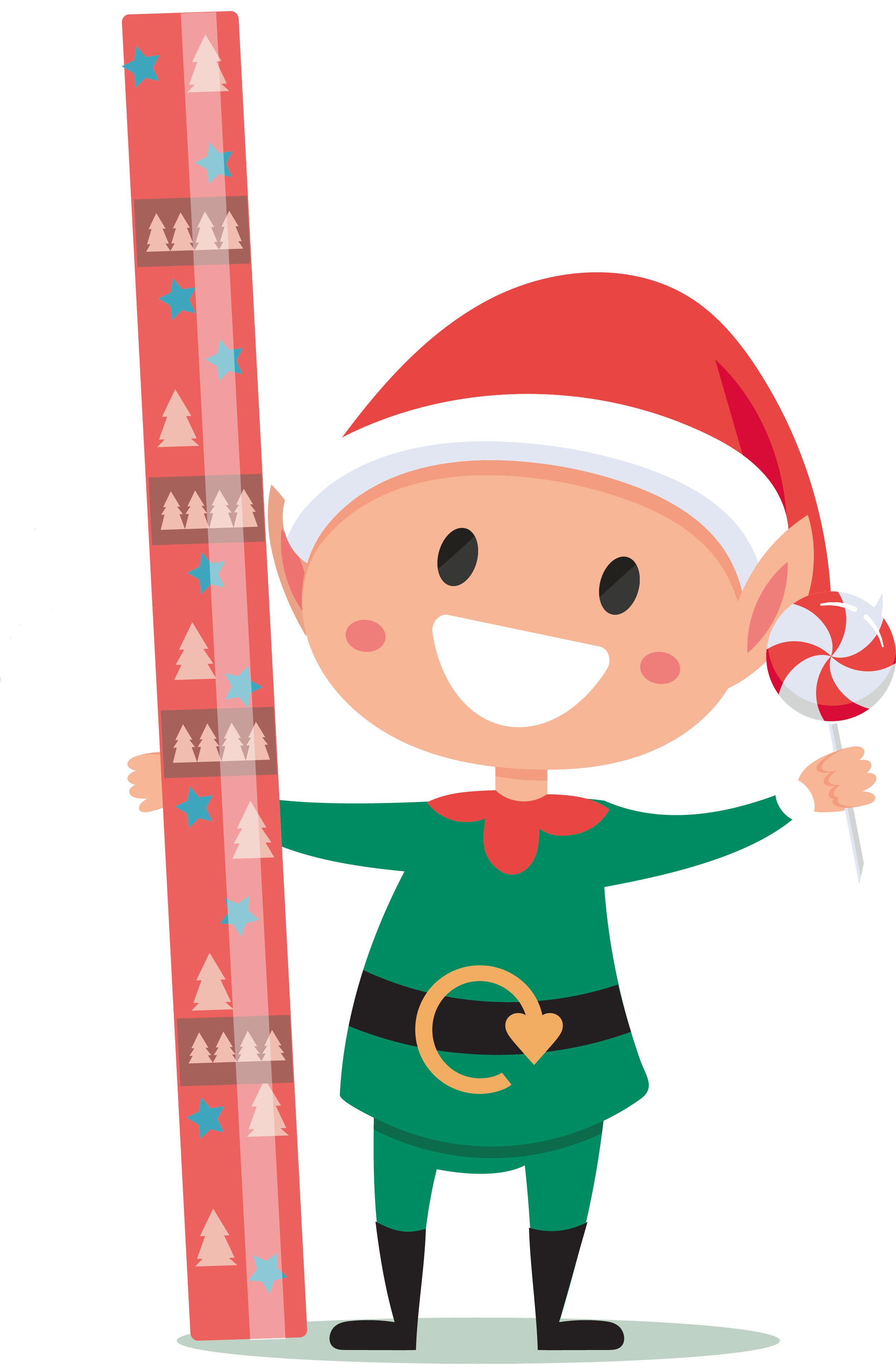 Norfolk Recycles Christmas Elf