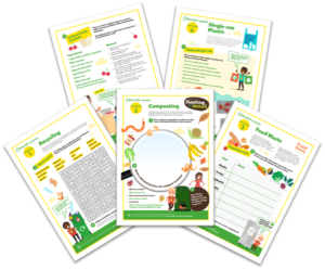 Norfolk recycles activity sheets