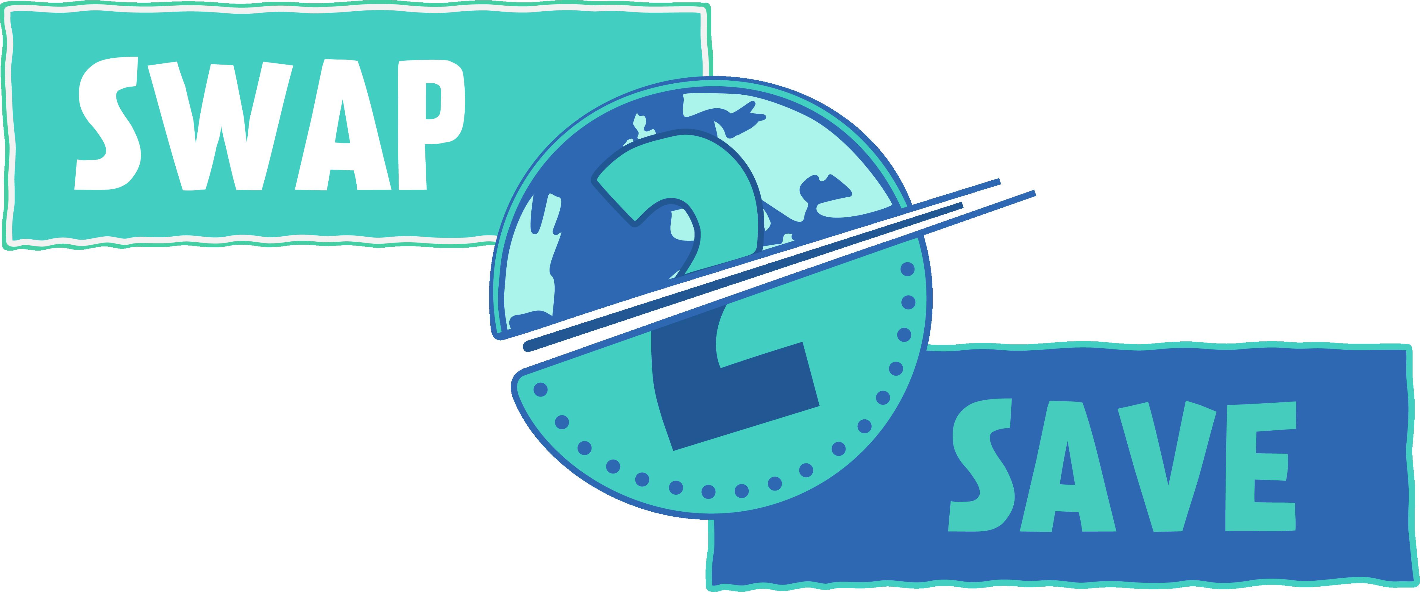 Logo to show the swap 2 save logo