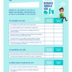 Image of reduce single-use school charter